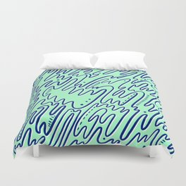 Abstract Lines #3 Duvet Cover