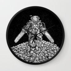 Texas Chainsaw Astronaut: New Moon Wall Clock