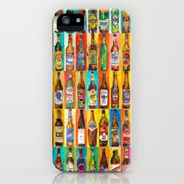 100 Bottles of Beer Poster - Perfert for College Dorms, Bar Decor, Man Cave iPhone Case
