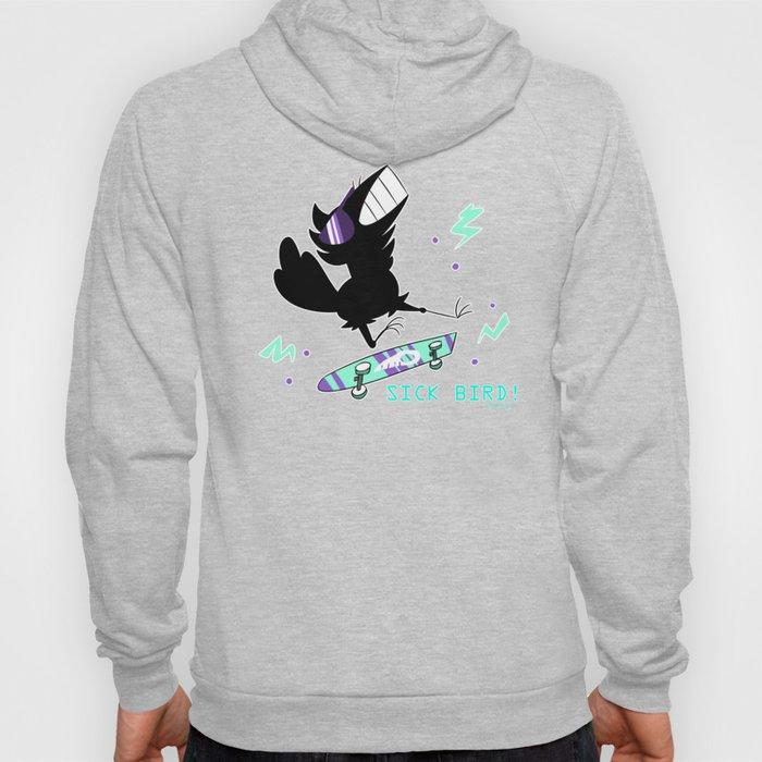 Sick Bird! fishcrow Hoody