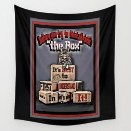The Box Wall Tapestry