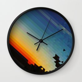 Pxl Wall Clock