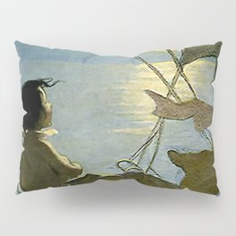 """The Water Baby"" by Jessie Willcox Smith Pillow Sham"