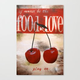 food of love Canvas Print