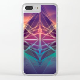 Future Shapes Clear iPhone Case