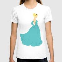 cinderella T-shirts featuring Cinderella by Eva Duplan Illustrations