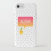 aloha iPhone & iPod Cases featuring Aloha by Elisabeth Fredriksson