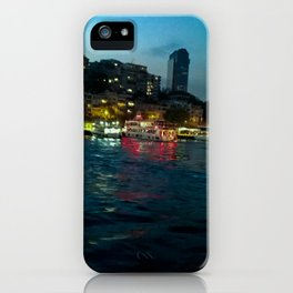 The night lights. iPhone Case