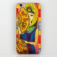 egyptian iPhone & iPod Skins featuring Egyptian by DaeChristine
