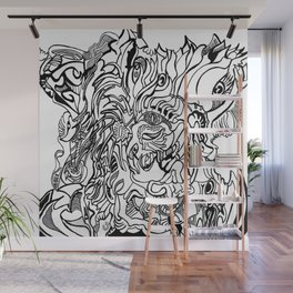 abstraction hallowed tree Wall Mural