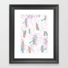 GRAPHIC. print, pattern, design, graphics, colour, illustration, art, design, Framed Art Print