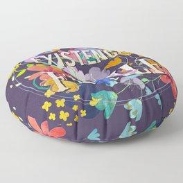Existence Floor Pillow
