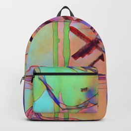 Abstract - a colour edit Backpack