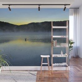Perfect Landing (Sunrise, Lake George) Wall Mural