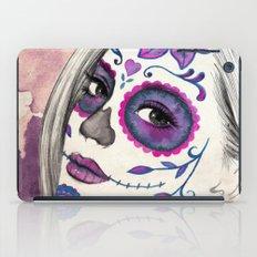Sugar Skull Girl iPad Case