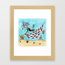 So Much To Sea Framed Art Print
