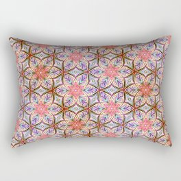 Pink Star Rectangular Pillow