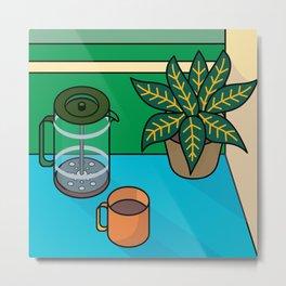 Coffee time Metal Print