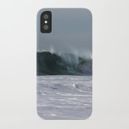 Fast as a Wave iPhone Case