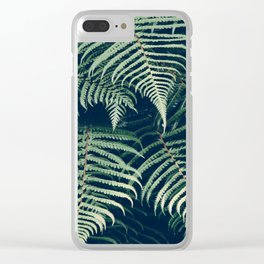 Fern Beach Clear iPhone Case