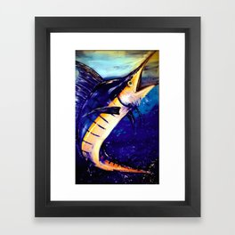Marlin Framed Art Print