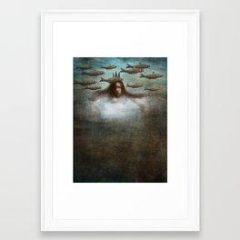 Dream Swimming Framed Art Print