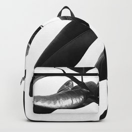 Ficus Elastica Black & White Vibes #1 #foliage #decor #art #society6 Backpack