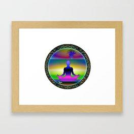 Kenny Rego Industries serene Framed Art Print