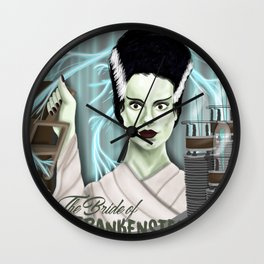 The Bride of Frankenstein Wall Clock