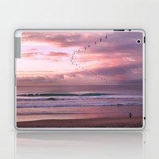 Magenta Sky Laptop & iPad Skin