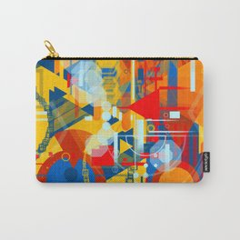Portrait of man with beard Carry-All Pouch