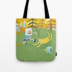 adventure friends Tote Bag