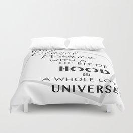 Classy HOOD Universe Duvet Cover