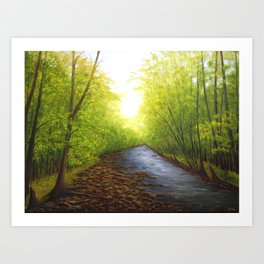 Peaceful Hike Art Print