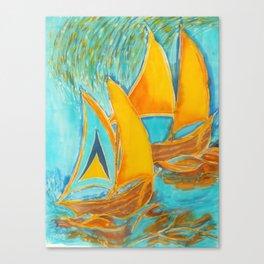 """St. Lucia"" Canvas Print"