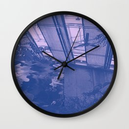 blush i Wall Clock