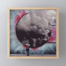 Clouded Judgment Framed Mini Art Print