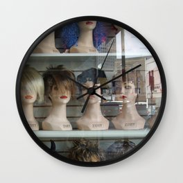 Milwaukee Ave. Mannequins Wall Clock
