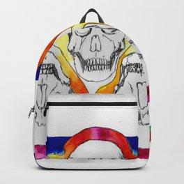 Color Skulls Backpack