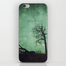 Nevermore iPhone & iPod Skin