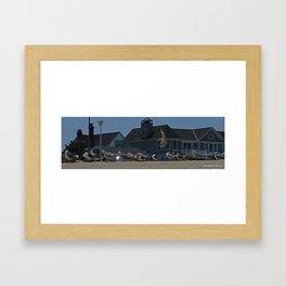 Beach Bums Framed Art Print