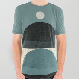 Abstraction_SHAPE_BALANCE_POP_ART_Minimalism_001AB All Over Graphic Tee