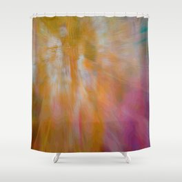 Abstract 03 Shower Curtain