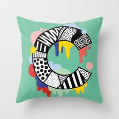 C for …. Throw Pillow