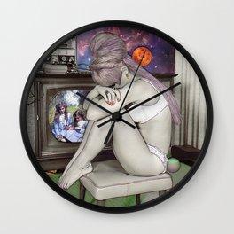 Sentimental Sadness  Wall Clock