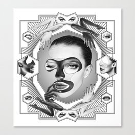 Self-Love-Hate Canvas Print