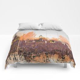 New York Panorama Comforters