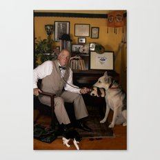 Dogs Are People, Too. Canvas Print