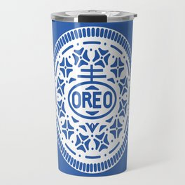 """OREO"" Biscuit poster Travel Mug"