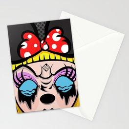 Mickey Girl Stationery Cards